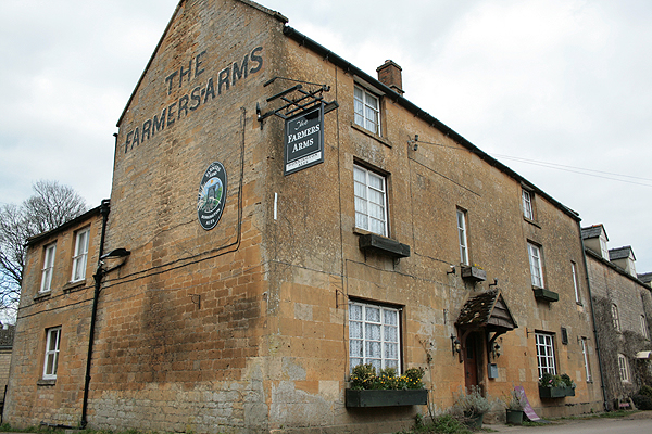 The Farmers Arms Guiting Power Cotswolds Pub Pub Food